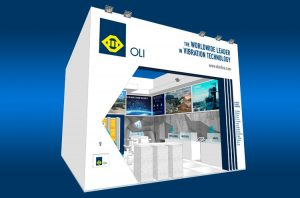 OLI Booth at Bauma 2019